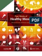 Four Weeks of Healthy Menus