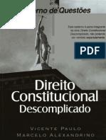 Direito Constitucional Descomplicado Caderno de Questoes 1reduced