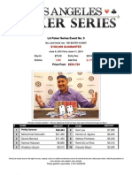 2013 LA Poker Series Event 5 - The Bicycle Casino