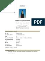 Resume Haliza