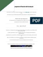 Aprende a Programar en Pascal Sin Salir de Este Post