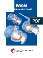 Wkm Trunnion Ball Valve