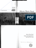 Alberto Mario Banti, L'età contemporanea dalla grande guerra ad oggi