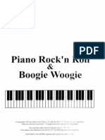 Rock'n Roll and Boogie Woogie (Piano) (Piano) (Partitura - Sheet Music - Noten - Partition - Spartiti)