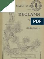 Reclams de Biarn e Gascounhe. -Yéné 1940 - N°4 (44e Anade)