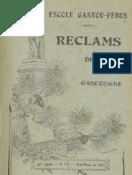 Reclams de Biarn e Gascounhe. - Yéné-Heuré 1941 - N°1-2 (45e Anade)