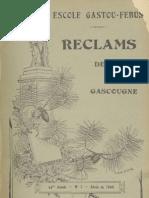 Reclams de Biarn e Gascounhe. - Abriu 1940 - N°7 (44e Anade)