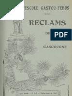Reclams de Biarn e Gascounhe. - Garbe-Aoust 1941 - N°7-8 (45e Anade)