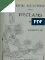 Reclams de Biarn e Gascounhe. - Noubembre-Mes mourt 1941 - N°11-12 (45e Anade)