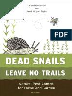 Dead Snails Leave No Trails by Loren Nancarrow and Janet Hogan Taylor - Excerpt