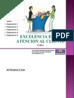 Excelencia en La Atencion Al Cliente Presentacion Ppt