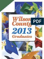 Wilson County Graduation 2013
