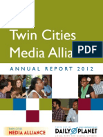 Twin Cities Media Alliance Annual Report 2012