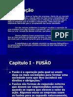 Apresentação Monografia ADM Financeira Orçamentária - Fusões