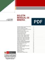 BOLETIN MINERIA 08-11