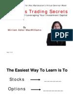Online Options Trading Secrets
