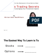 Online Options Trading Secrets