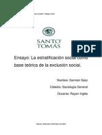 Ensayo Sociologia GERMAN