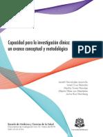 2010 Capacidad para la investigación clínica