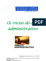 Direito Administrativo - Joana Caria - aluno nº 21106493
