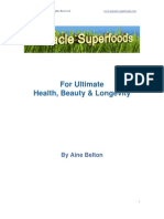 Miracle Superfoods - Aine Belton