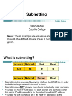 basic networking subneting network class