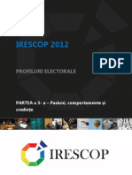 IRESCOP 2012 - III - Pasiuni Comportamente Si Credinte