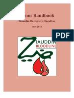 Donor Handbook