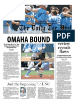 The Daily Tar Heel for June 13, 2013