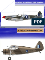 WW II Commonwealth Nations Aircraft Prints (CLW Graphics)