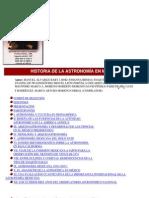 Astronomia - Historia de La Astronomia en Mexico