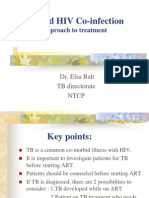 Management of TB and HIV Co-Infection