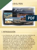 La Mineria en El Peru Trabajo Incompleto