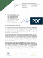 St. Paul Saints Ballpark Budget Letter 6/12/13