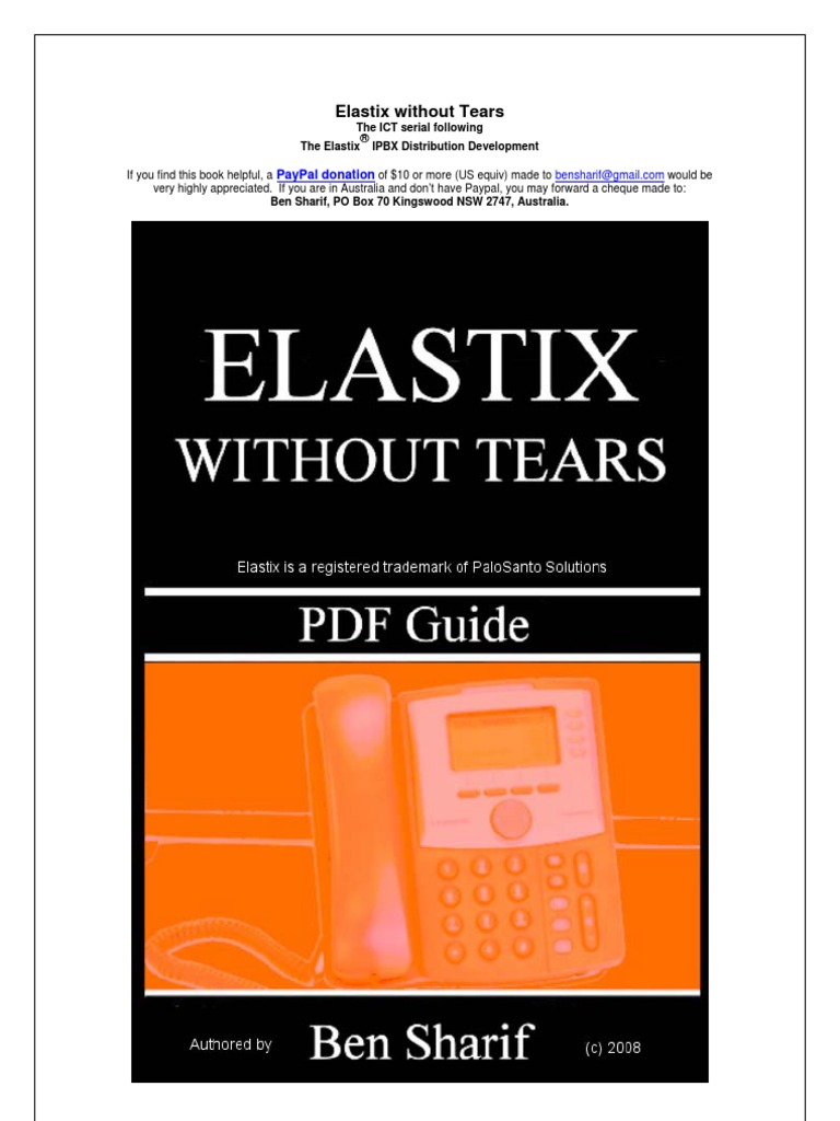 Elastix Without Tears (1) | Voice Over Ip | Voicemail