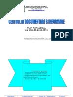 Plan Managerial CDI