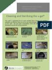 V-gel Cleaning & user Guide