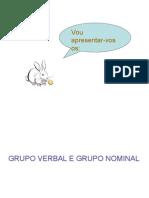 Grupos Nominal e Verbal