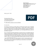 Samuelson Letter to Judge Chin 4.27.09