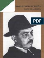 Carilla, Emilio - Pedro Henriquez Urena, Signo de America