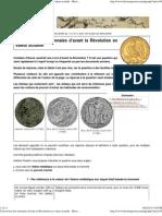 Conversion des monnaies d'avant la Révolution en valeur actuelle
