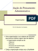 Aula Organizacoes Gestao