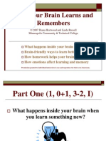 How Your Brain Learns and Remembers (PowerPoint)