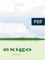 Exigo Vet User Manual
