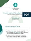Creación de sitios Webmediante estándares