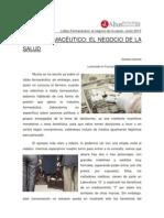 LOBBY FARMACÉUTICO. EL NEGOCIO DE LA SALUD  - Daniela Cáceres
