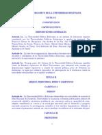 07 Estatuto Organico CEUB[1]