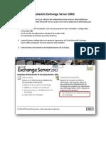 Servidor de Correo Exchange 2003