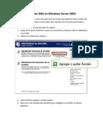 Servidor DNS en Windows Server 2003