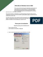 Servidor Web en Windows Server